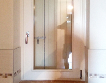 Serramento interno bianco - finestra
